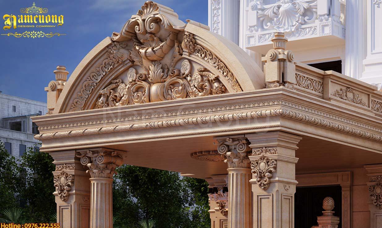 Biệt thự 2 tầng kiểu Pháp đẹp nhất