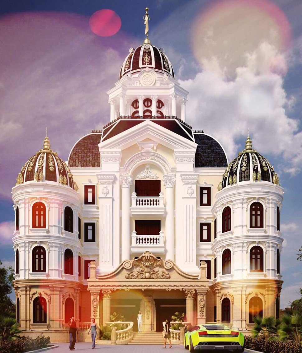 Chiêm ngưỡng ngôi biệt thự kiến trúc Pháp cổ điển tại Sài Gòn