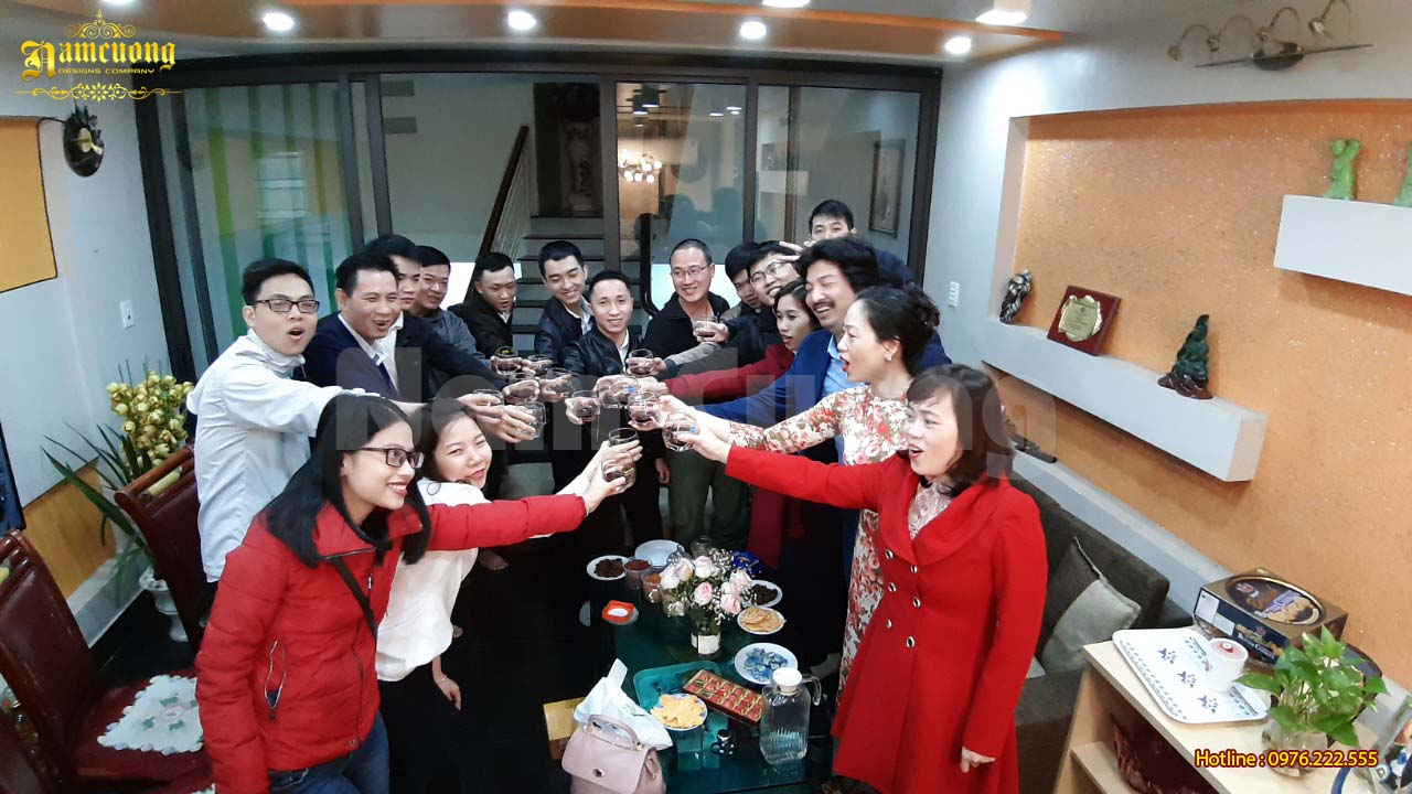 Tưng bừng khai xuân 2019 cùng khách hàng của Nam Cường