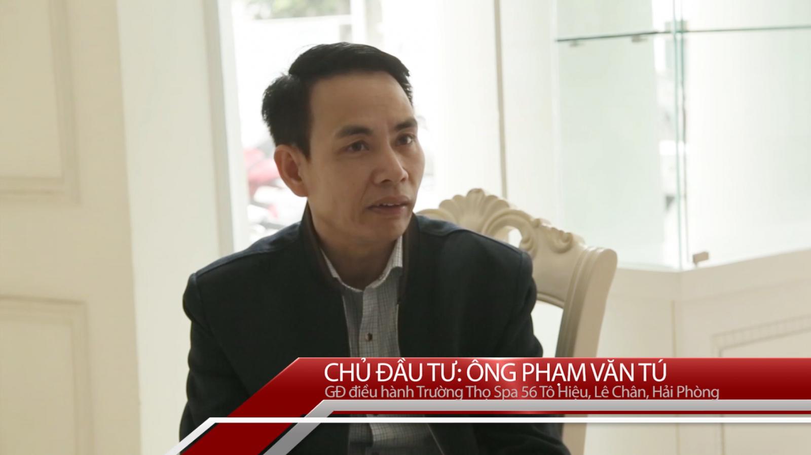 Đánh giá của CĐT Phạm Văn Tú- Công trình Trường Thọ Spa