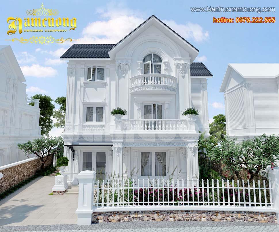 Ý tưởng thiết kế biệt thự 3 tầng tại Quảng Ninh siêu đẹp