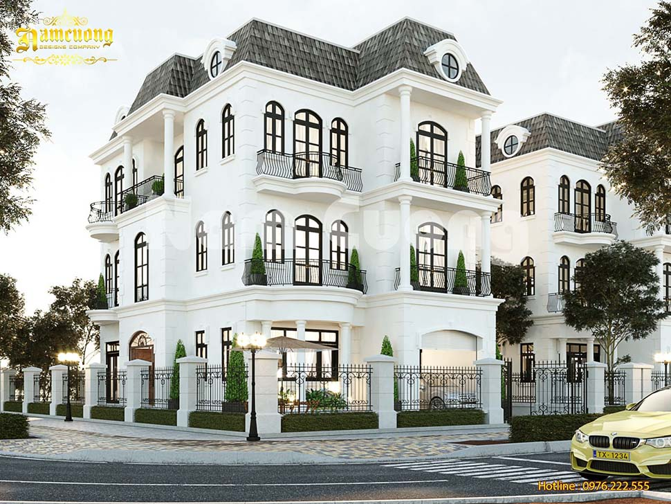Mẫu thiết kế biệt thự 3 tầng Vinhomes đẹp