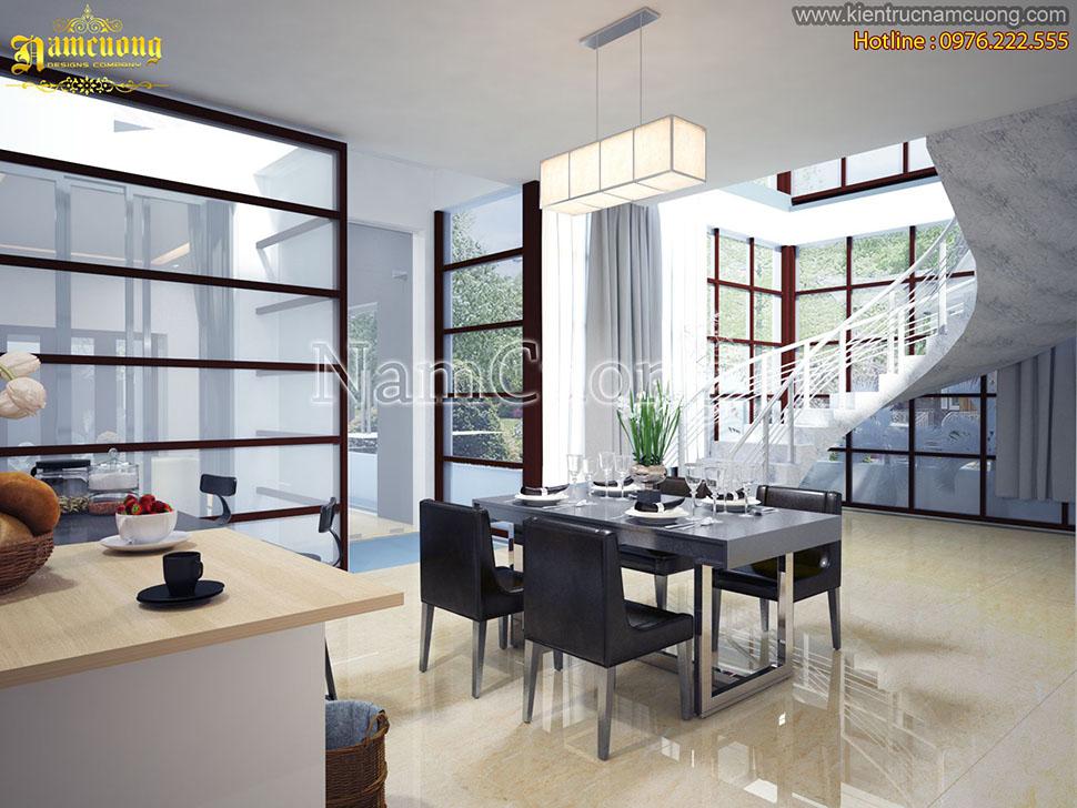 Thiết kế nội thất biệt thự hiện đại tại Hải Phòng - BTHD 006