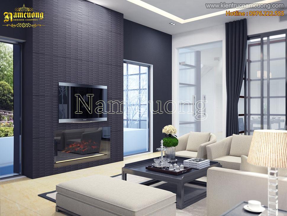 Mẫu thiết kế nội thất hiện đại sang trọng, phong cách tại Hà Nội - NTHD 016