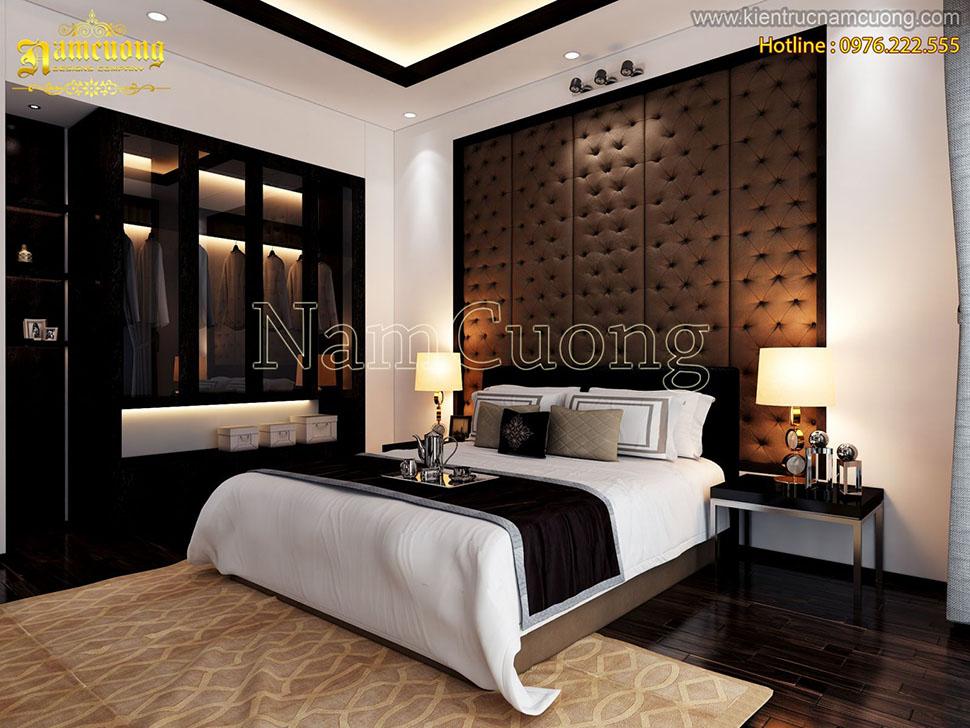 Nội thất phòng ngủ cho biệt thự hiện đại tại Hải Phòng - NTPNHD 022