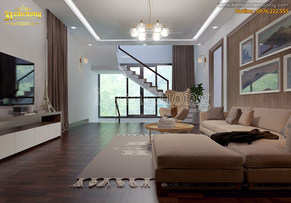 Những mẫu phòng khách đẹp mang phong cách hiện đại