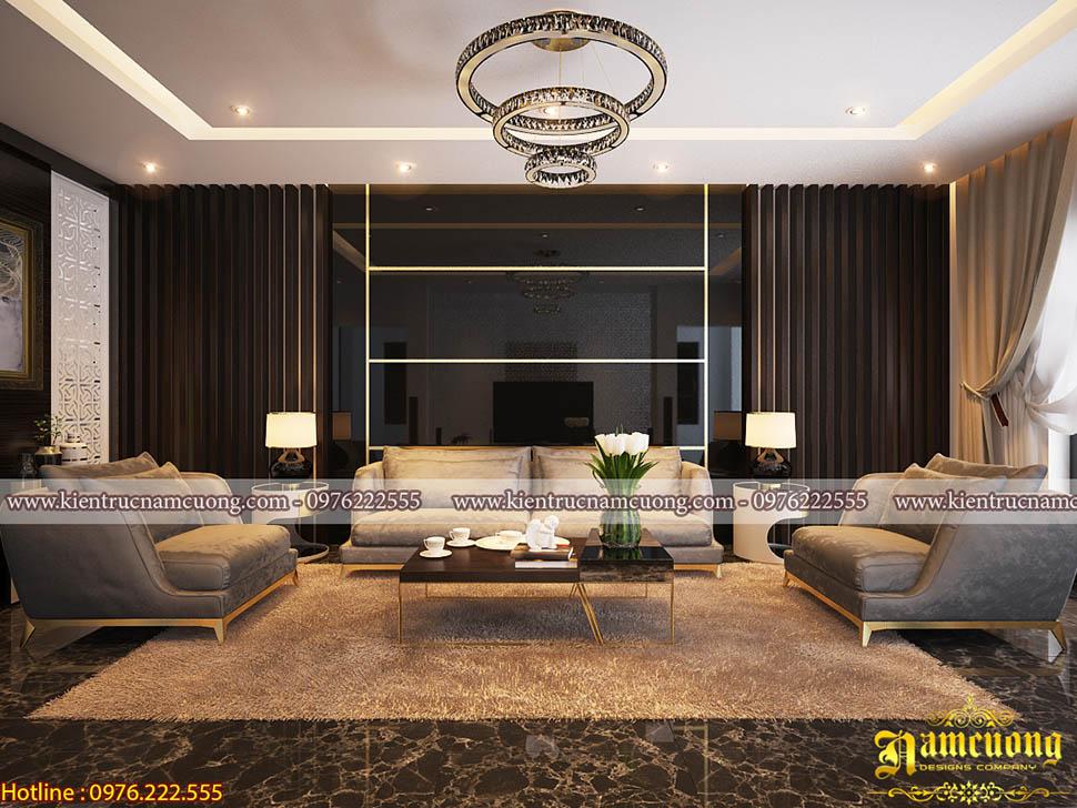 Mẫu nội thất đẹp cho biệt thự hiện đại tại Sài Gòn - NTBTHD 001