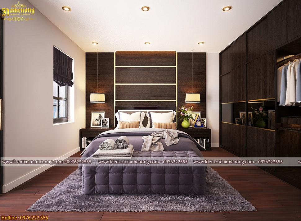 Phong cách phòng ngủ biệt thự hiện đại mang thương hiệu NCDC