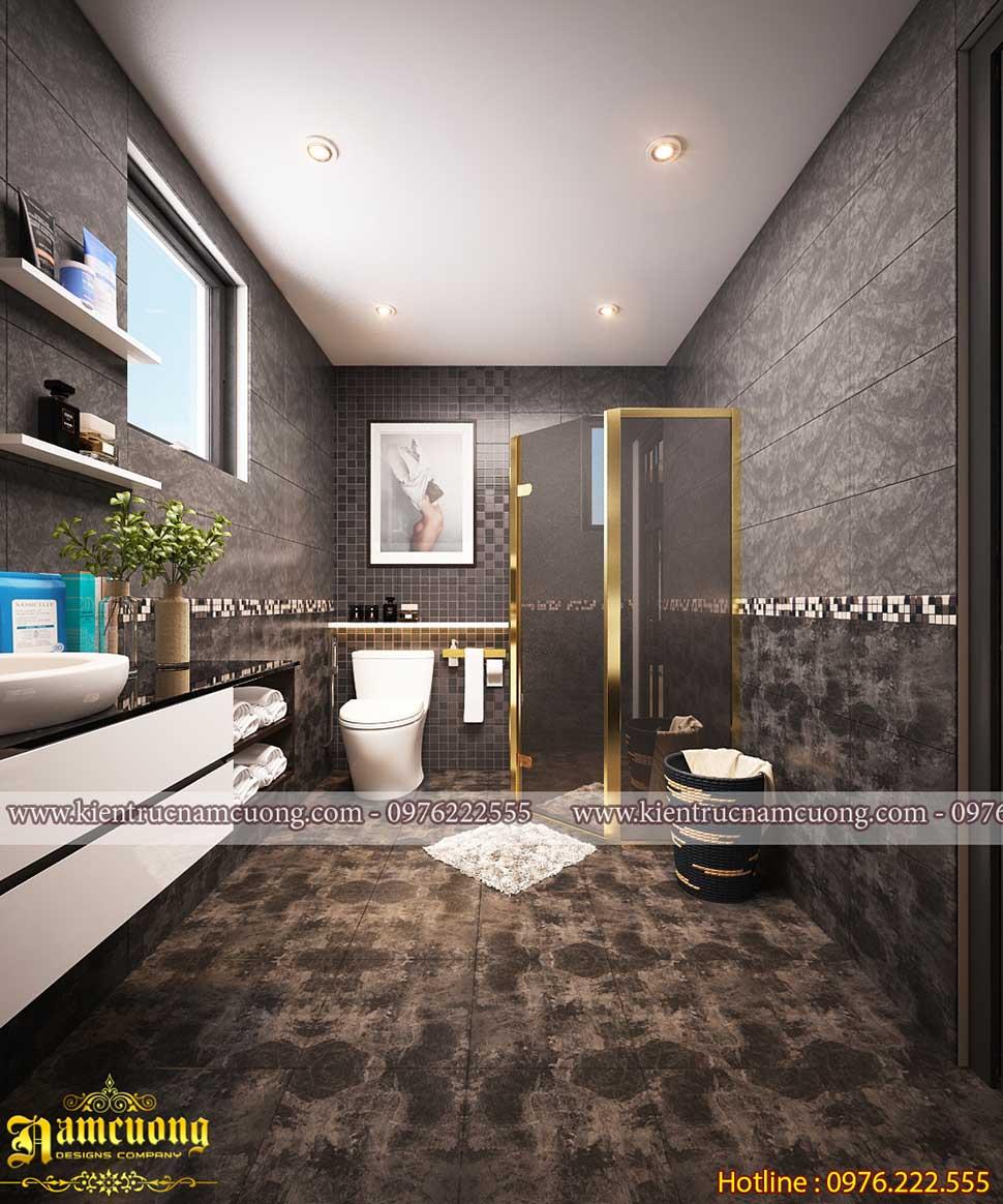 Những mẫu thiết kế phòng vệ sinh cho biệt thự hiện đại  của NCDC