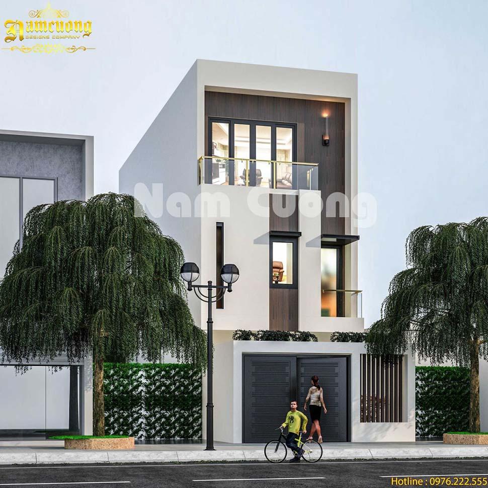 Hoàn thành thiết kế kiến trúc và nội thất cho nhà ống hiện đại - BTHD 022