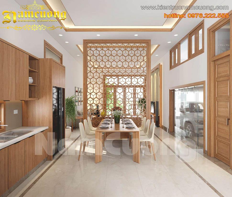 Những mẫu phòng bếp phong cách hiện đại đẹp ấn tượng
