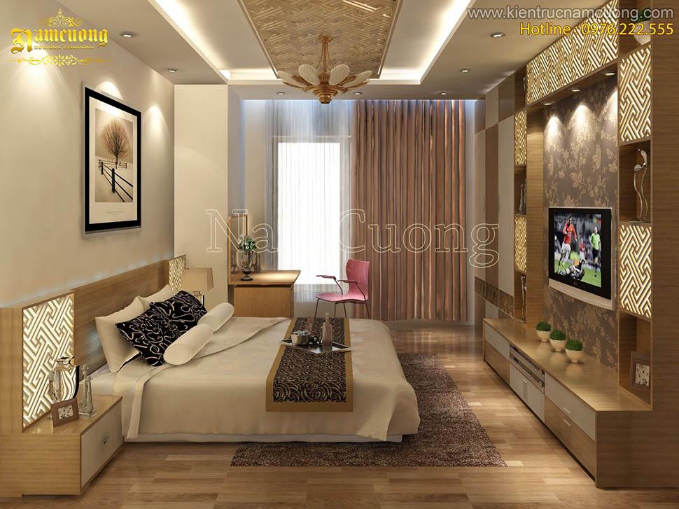 Những mẫu nội thất phòng ngủ phong cách hiện đại ấn tượng