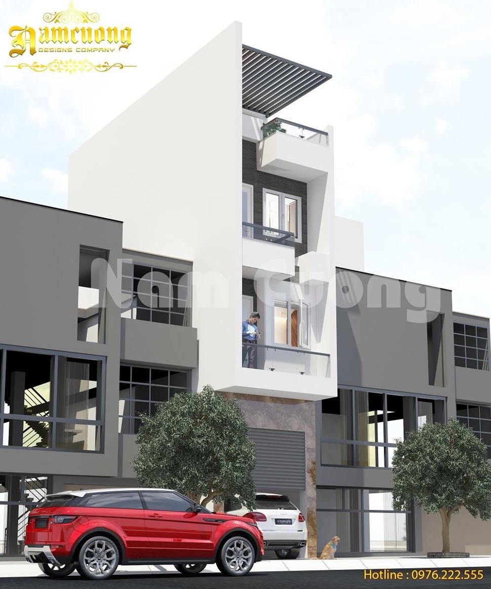 Hoàn thành thiết kế nhà ở kết hợp kinh doanh quán game 4 tầng-NPHD 015