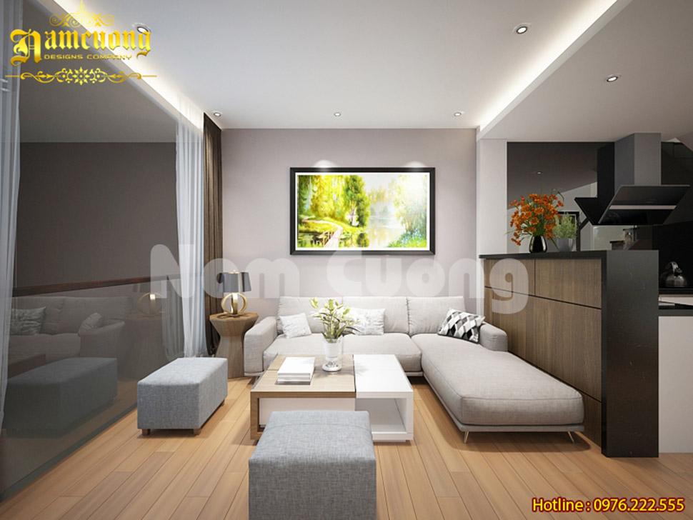 Thiết kế nội thất nhà ở kết hợp kinh doanh quán game