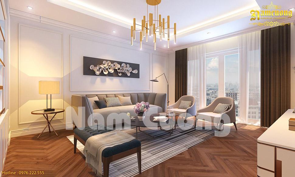 Thiết kế nội thất hiện đại năng động, đầy cá tính