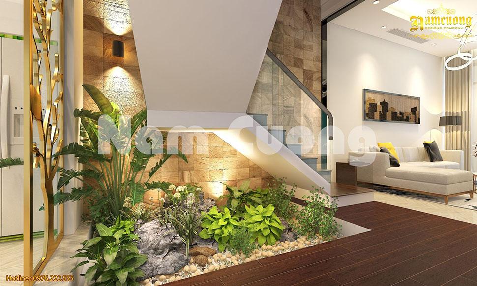 Thiết kế nội thất biệt thự hiện đại đậm nét cá tính, năng động