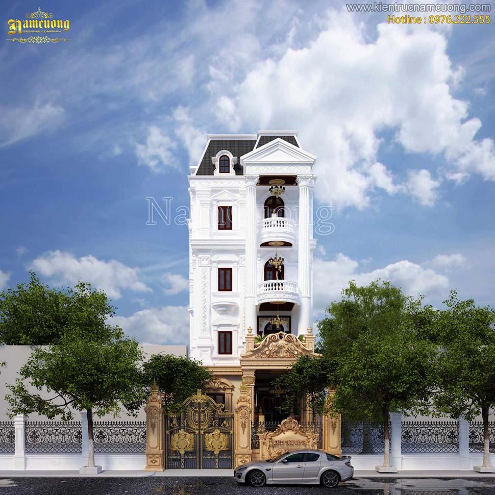 Khởi công xây dựng biệt thự kiến trúc Pháp đẹp tại Quảng Ninh