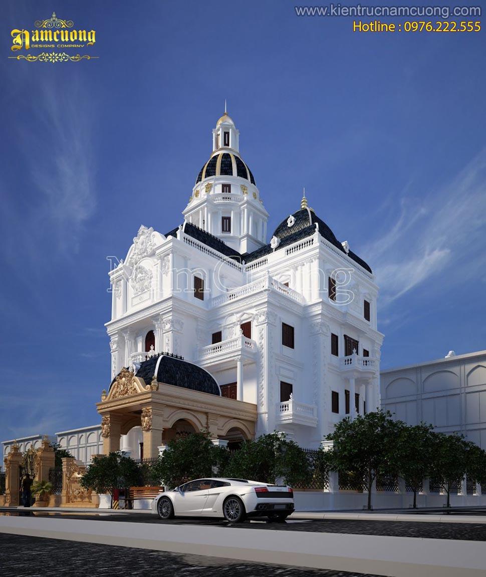 Ngôi biệt thự kiến trúc Pháp cổ điển đẹp tại Đà Nẵng - BTLD 022