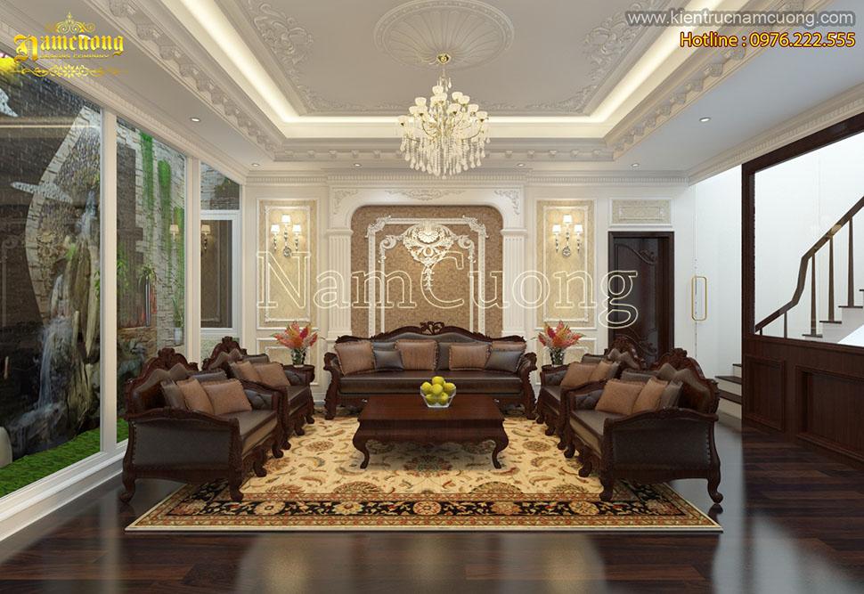 Cách thiết kế nội thất phòng bếp ăn cho biệt thự lâu đài nguy nga