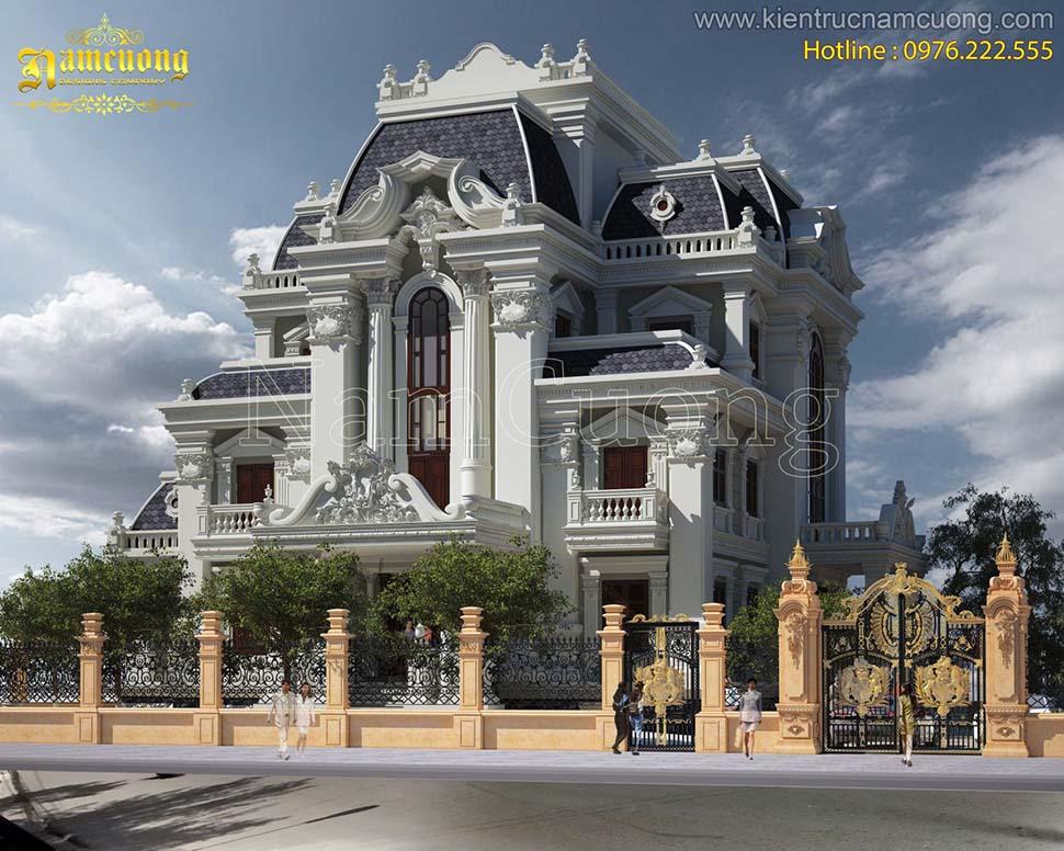 Những mẫu thiết kế biệt thự lâu đài đẹp sang trọng của NCDC