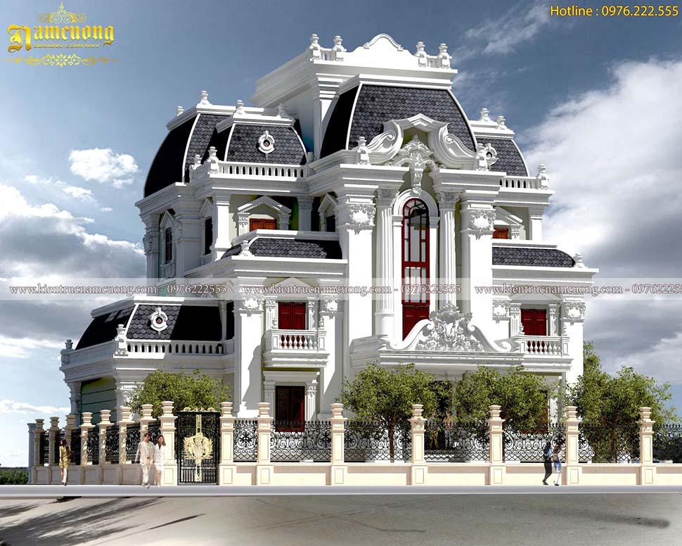 3 thiết kế biệt thự kiến trúc lâu đài cổ đẹp nhất của Nam Cường