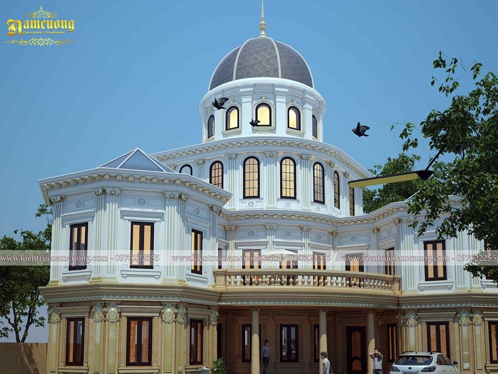 Thiết kế hoàn thiện hồ sơ công trình biệt thự lâu đài  cho gia chủ