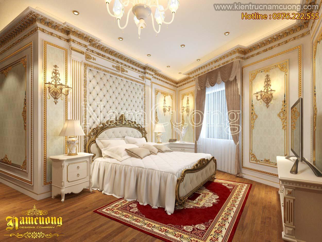 Mẫu thiết kế nội thất biệt thự Châu Âu đẳng cấp