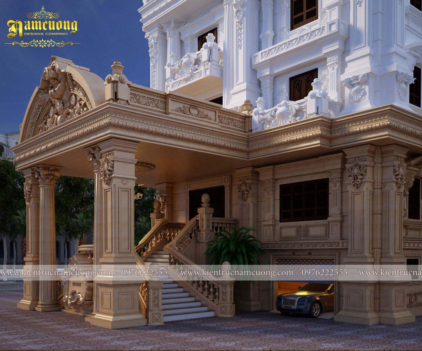 Chiêm ngưỡng mẫu biệt thự kiểu Pháp cổ sang trọng tại Sài Gòn