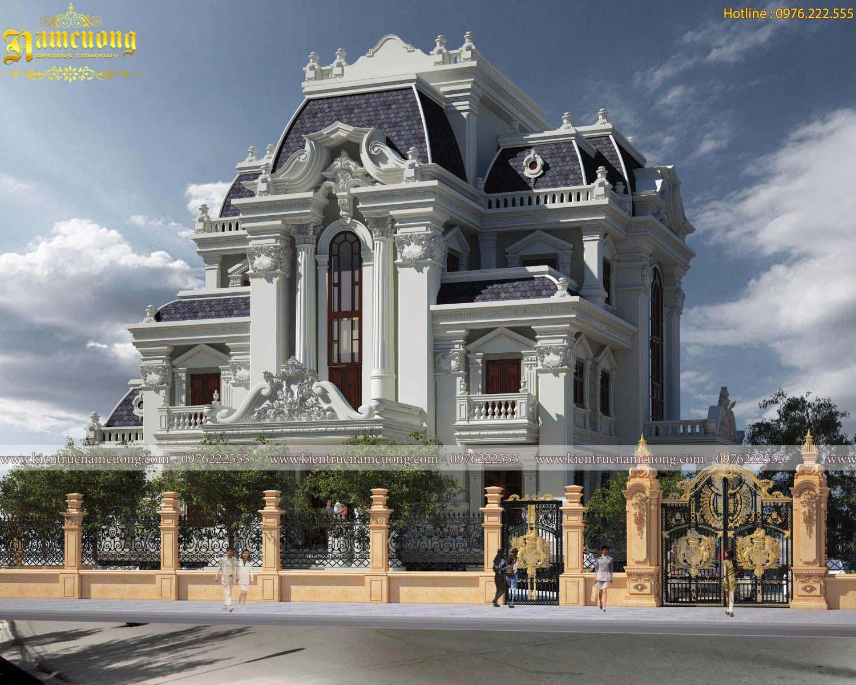 Tiến hành xây dựng biệt thự kiến trúc Pháp cổ điển tại Sài Gòn