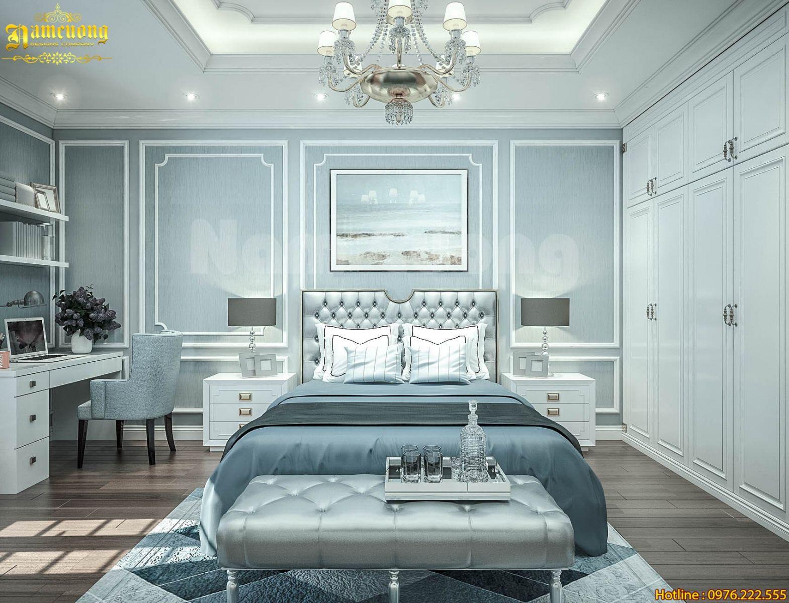 Mẫu thiết kế nội thất tân cổ điển hoàn chỉnh cho 1 công trình