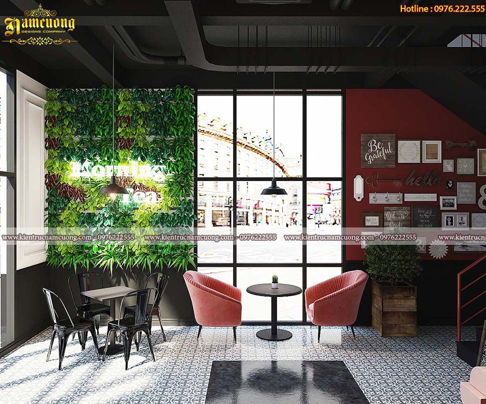 3 phong cách trang trí nội thất quán cafe đẹp đáng lựa chọn trong năm 2020