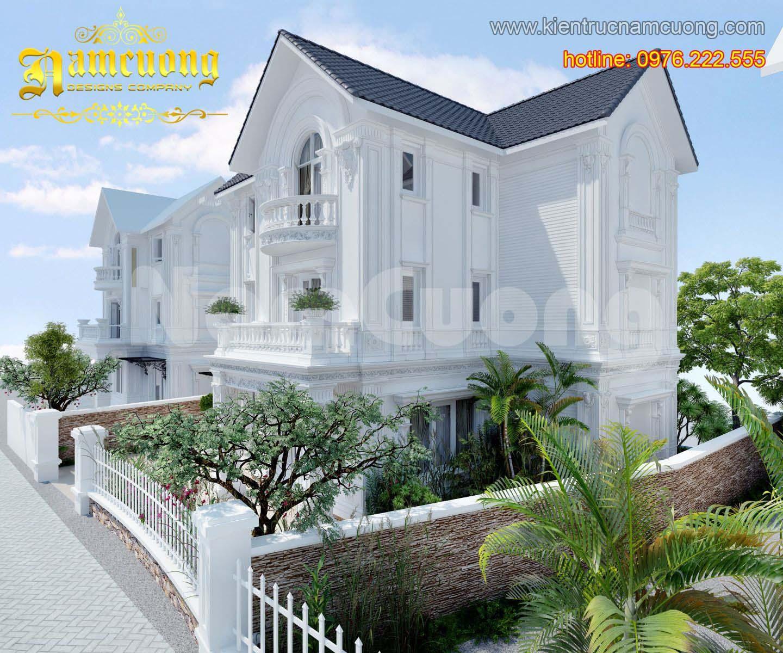 Mẫu thiết kế biệt thự tân cổ điển đẹp tại Quảng Ninh