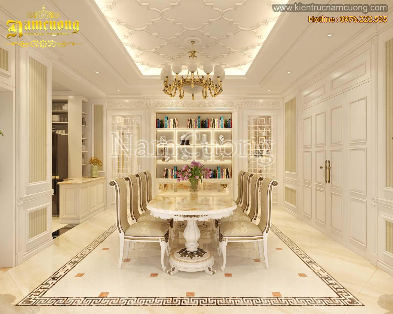 Nội thất đẹp cho nhà phố tân cổ điển tại Hải Phòng - NTCDNP 001