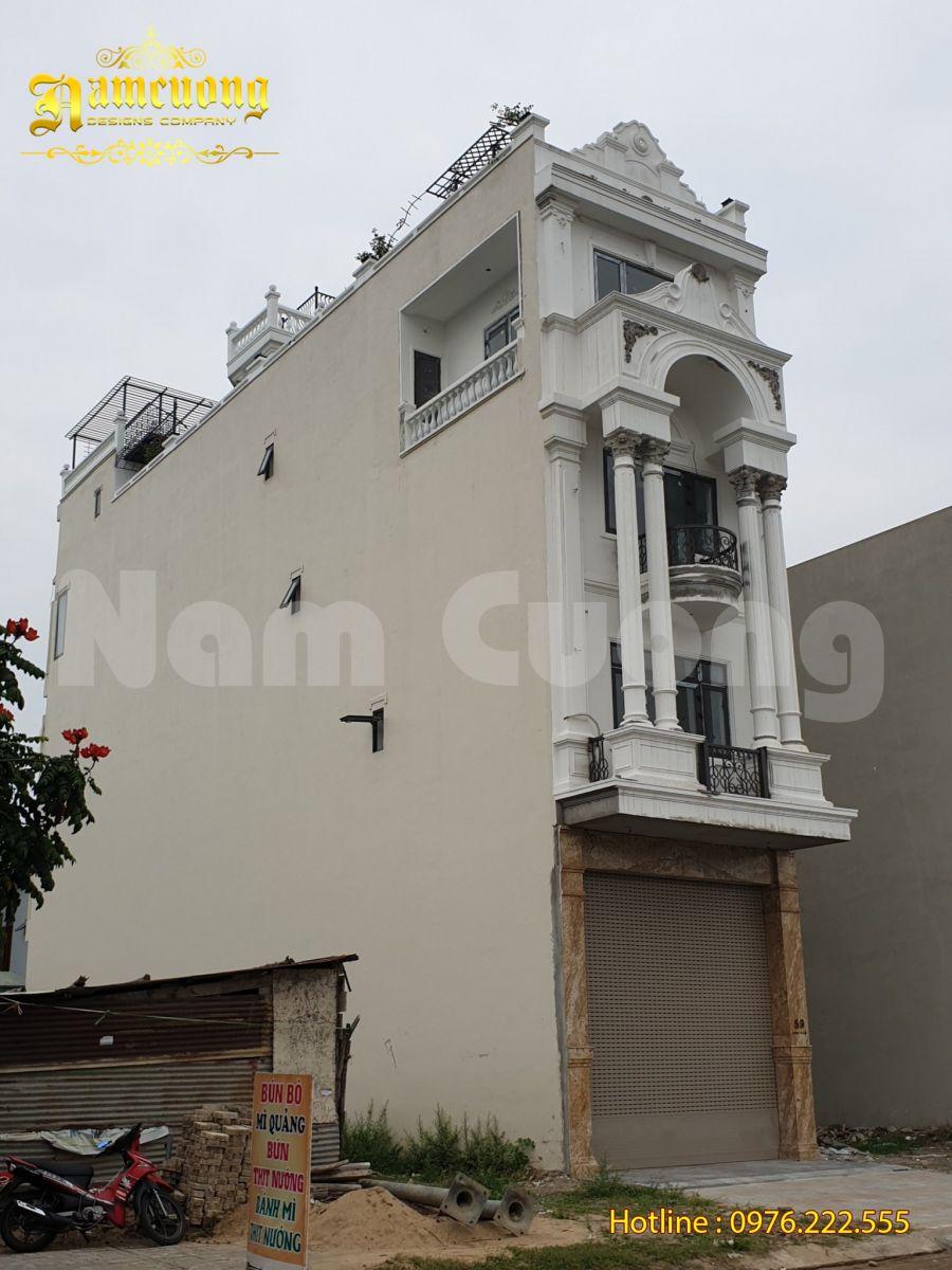 Thi công nhà đẹp phong cách Pháp tân cổ điển