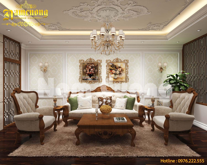 Chiêm ngưỡng mẫu thiết kế nội thất tân cổ điển cho nhà ống tại Hải Phòng