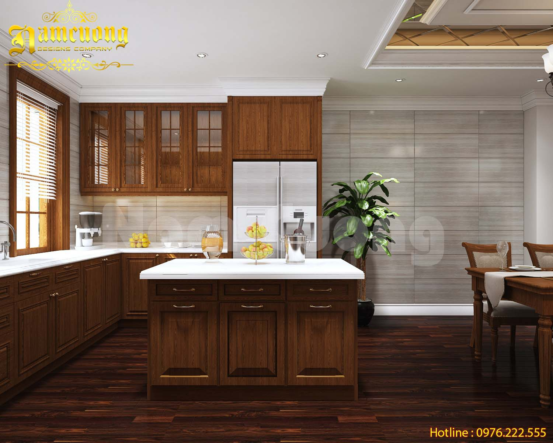 Mẹo hay thiết kế nội thất phòng bếp diện tích nhỏ