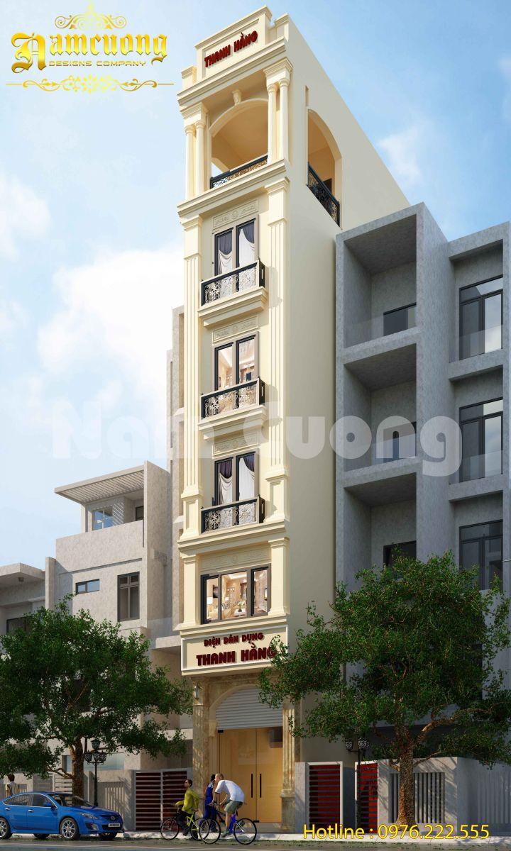 Hoàn thành thiết kế cho công trình nhà ở kết hợp kinh doanh - NPTCD 017