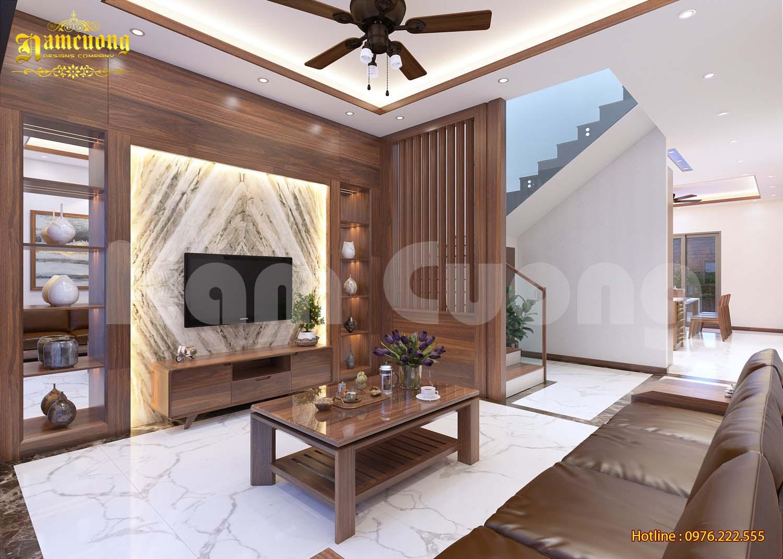 Nội thất tân cổ điển-Nội thất nhà ống tân cổ điển tại Hải Phòng