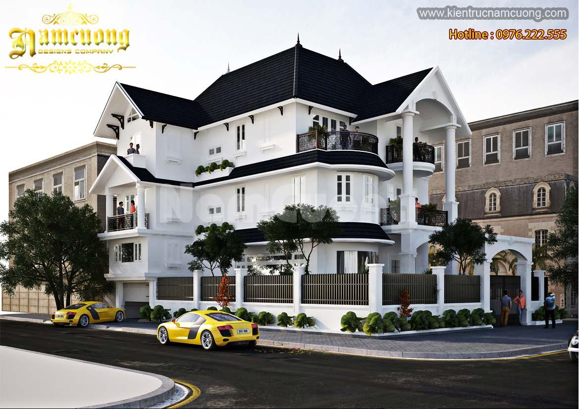 Độc đáo công trình biệt thự tân cổ điển đẹp tại Quảng Ninh-BTTCD 006