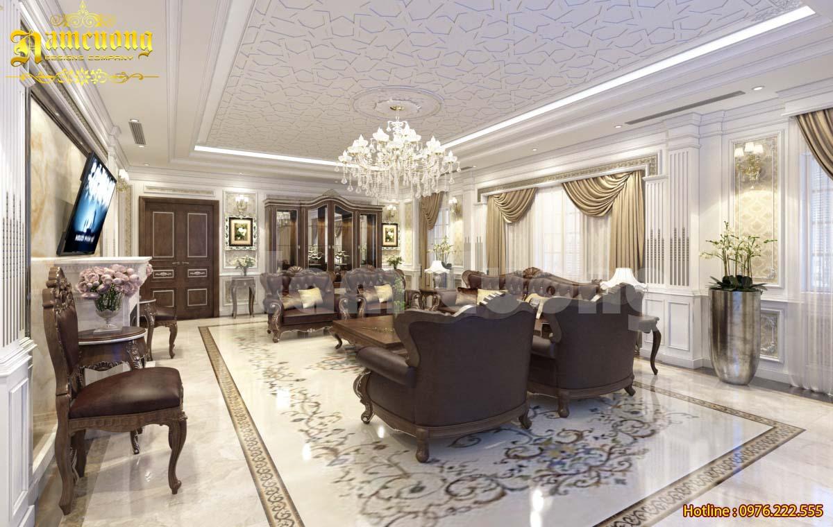 Mẫu nội thất sang trọng cho ngôi nhà tân cổ điển tại Hà Giang