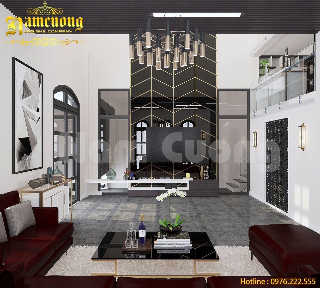 Thiết kế nội thất cho biệt thự hiện đại tại Quảng Ninh - NTBTHD 021