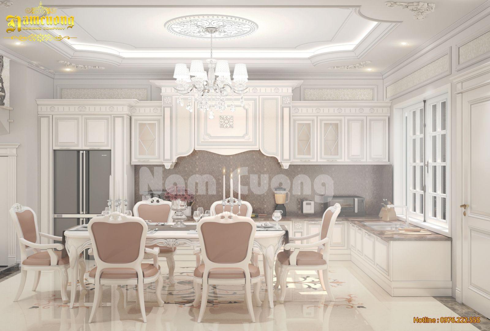 Thiết kế nội thất cho biệt thự tân cổ điển mini tại Hải Phòng