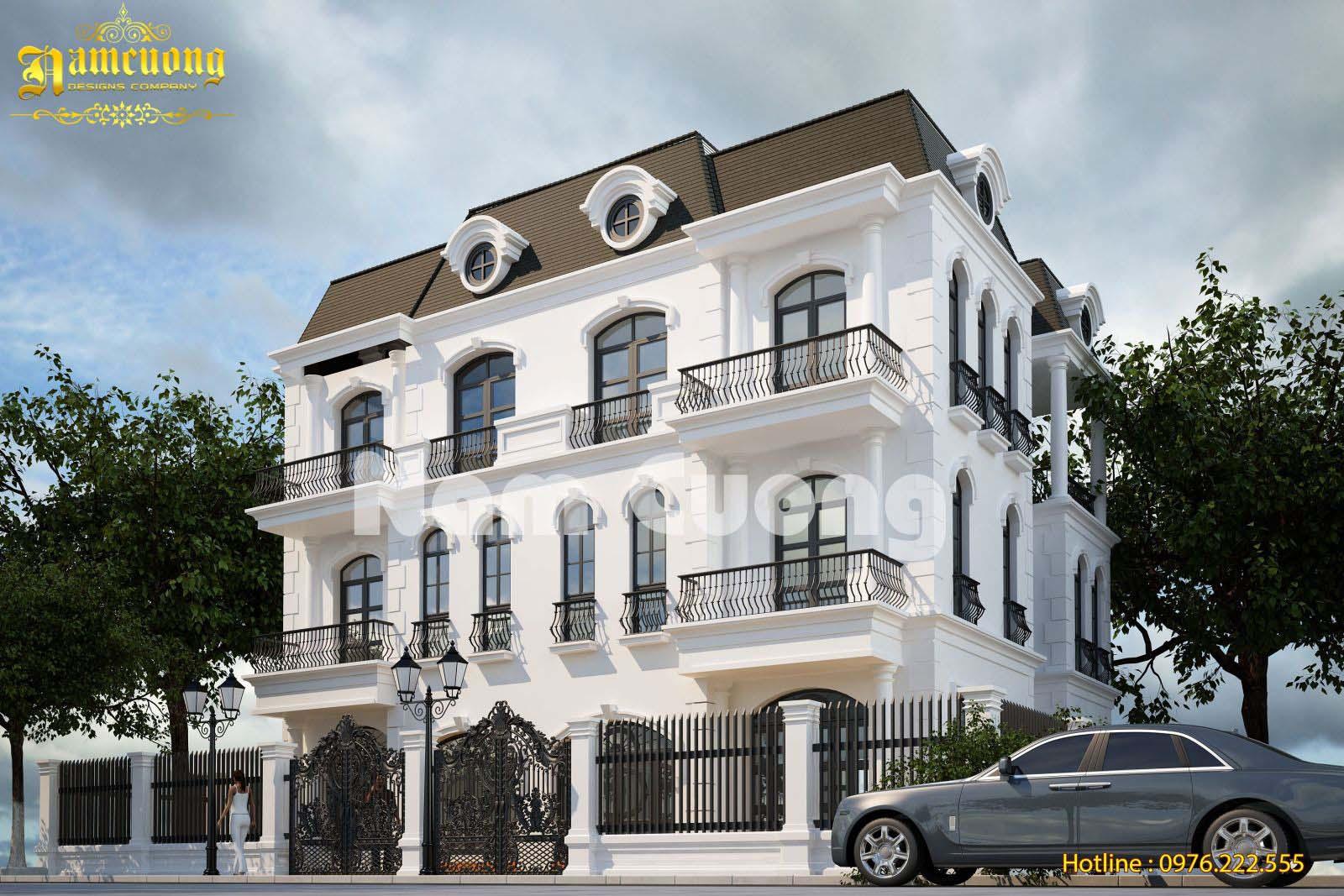 Hoàn thành công trình biệt thự tân cổ điển tại Vinhomes - BTTCD 018