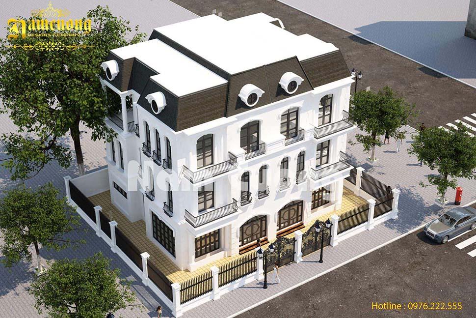 Thiết kế kiến trúc cho biệt thự tân cổ điển tại Vinhomes Imperia - BTTCD 018
