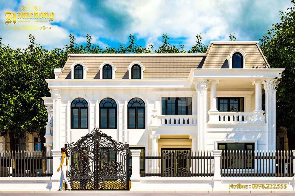 Hoàn thành mẫu thiết kế Biệt thự tân cổ điển của chủ đầu tư Anh Thanh - BTTCD 020
