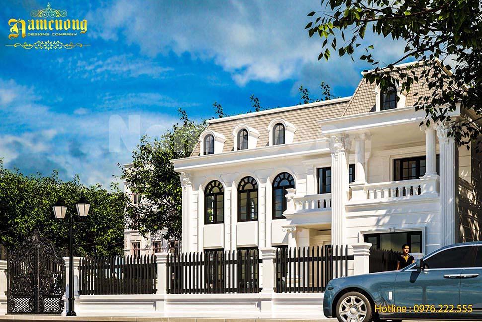 Kiến trúc xây dựng biệt thự tân cổ điển tại Quảng Bình