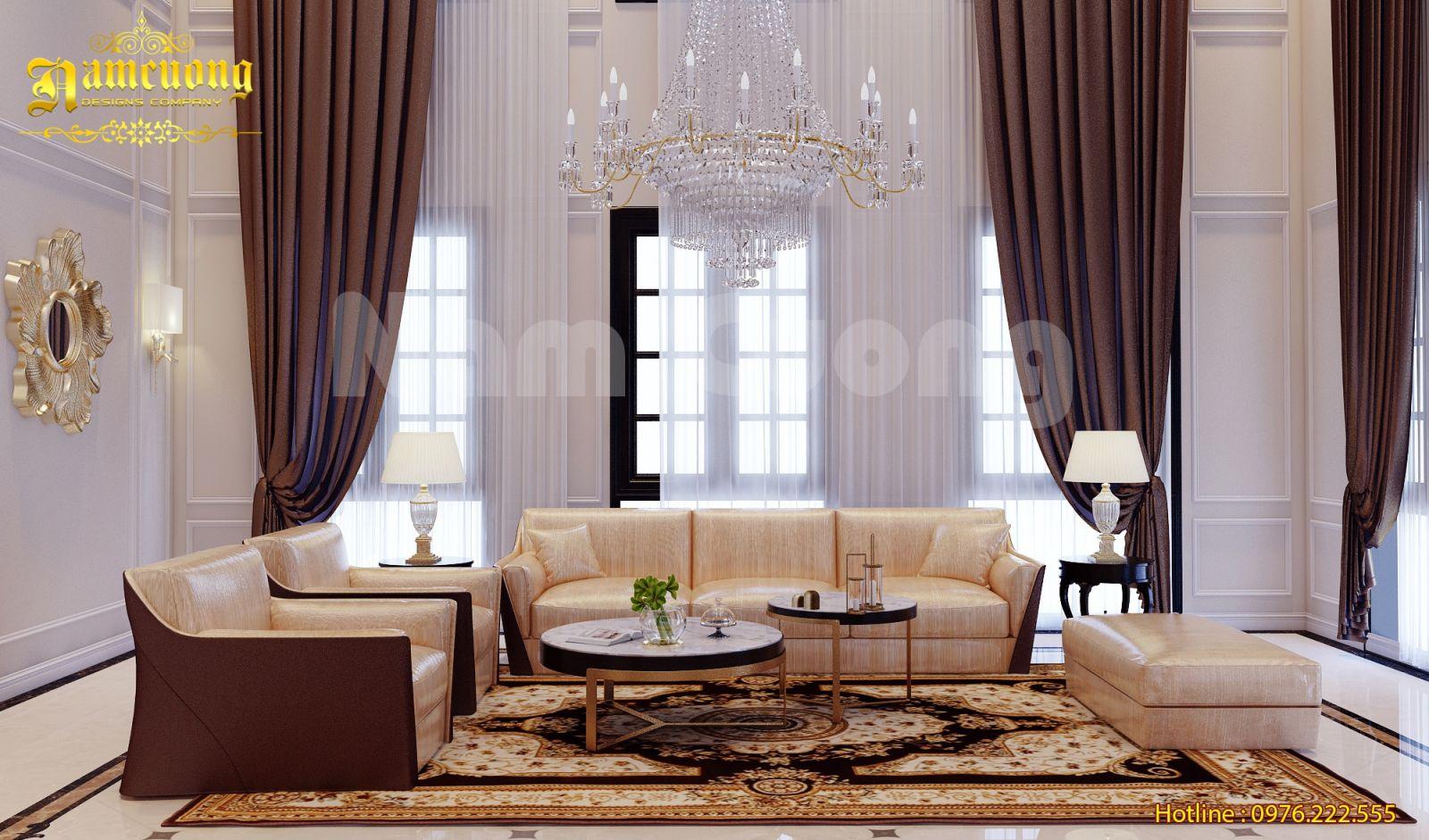 Ấn tượng với phong cách thiết kế nội thất tân cổ điển tại Quảng Bình