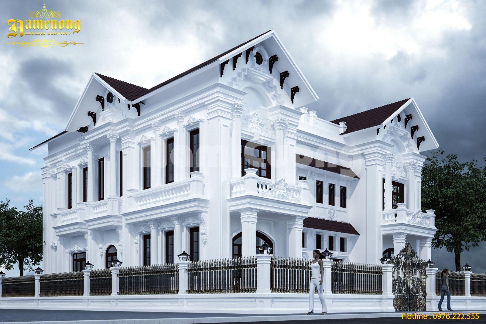 Vẻ đẹp tiềm ẩn trong biệt thự tân cổ điển tại Sài Gòn