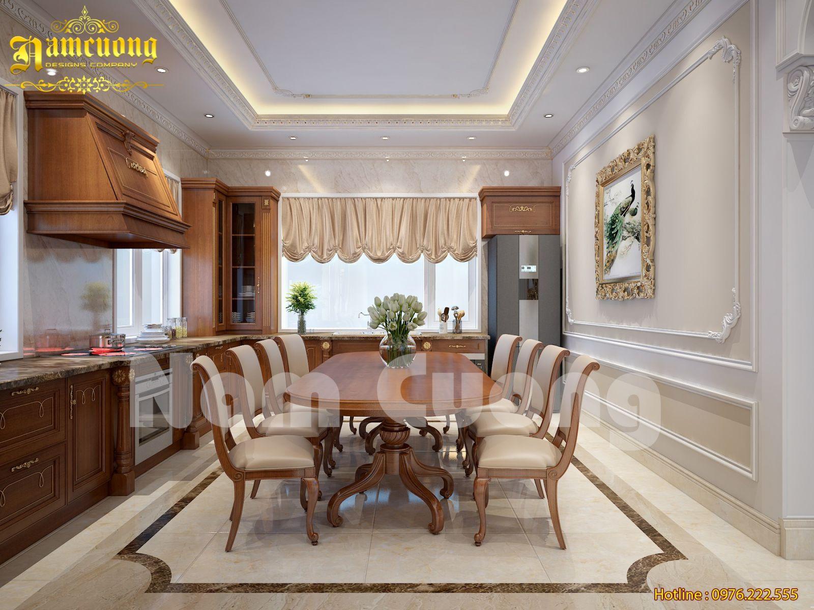 Phương án mới cho mẫu thiết kế nội thất tân cổ điển