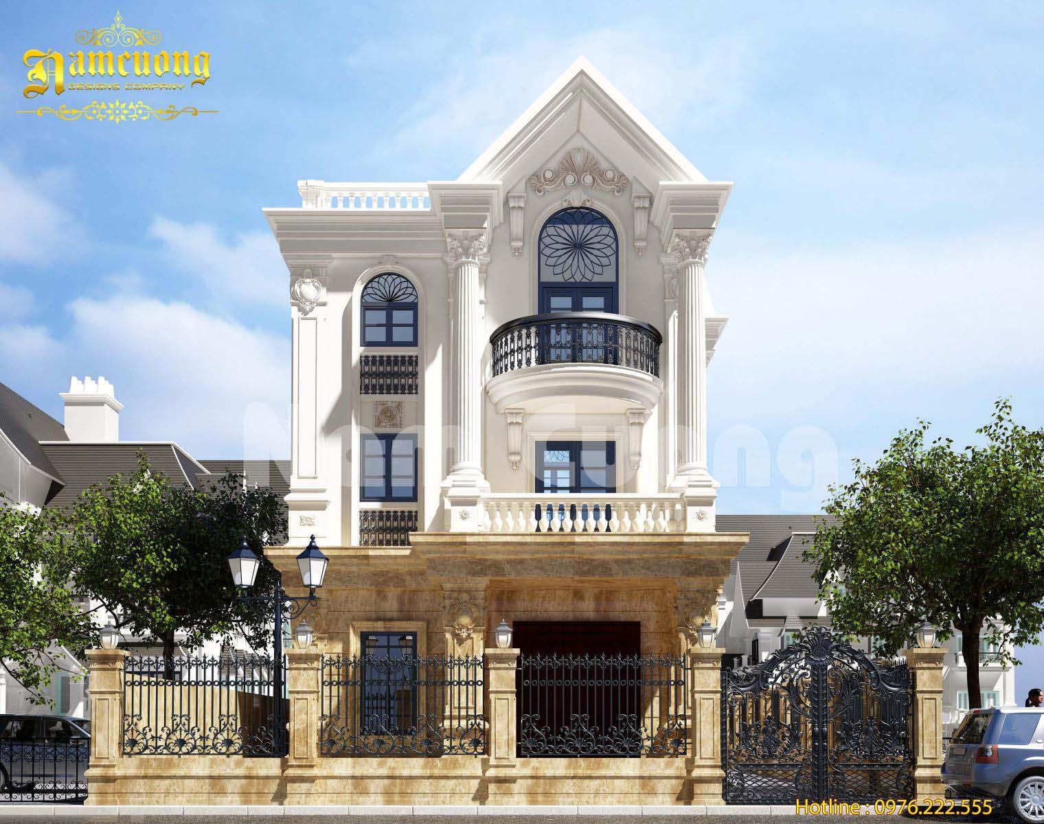 Hoàn thành mẫu thiết kế cao cấp của biệt thự tân cổ điển tại Vinhomes